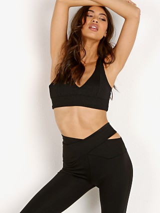 Complete the look: Year of Ours New Ribbed Bra Black