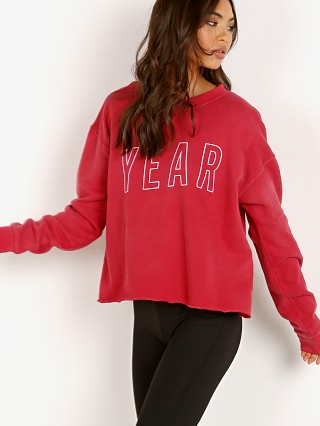 You may also like: Year of Ours Team Sweatshirt Cherry