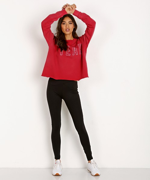 Year of Ours Team Sweatshirt Cherry