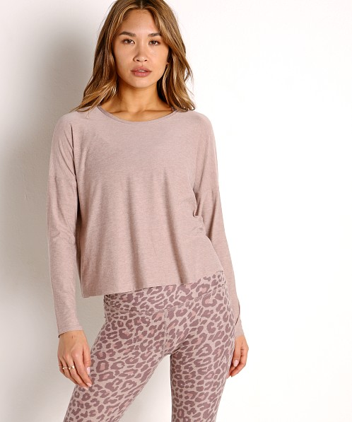 Beyond Yoga Featherweight Spacedye Morning Light Pullover Chai