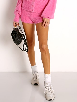 Model in bubblegum pink L Space Daydreaming Short