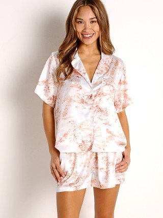 Model in tropical sands L Space Nova Pajama Set
