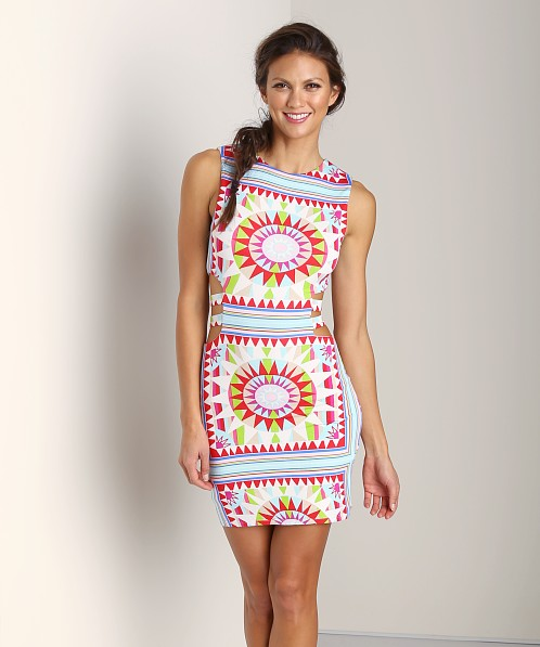 Mara Hoffman Strappy Mini Dress Shakti White