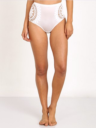 SKIVVIES by For Love & Lemons Annabella Hi-Waisted Panty Ivory