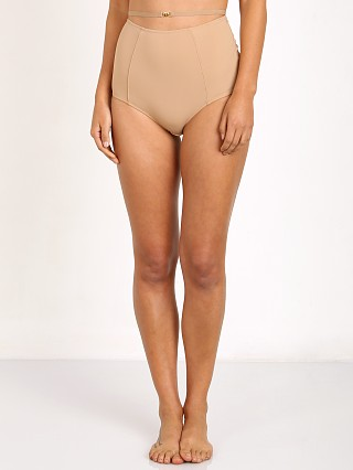 SKIVVIES by For Love & Lemons Sweetheart Hi-Waist Panty Nude