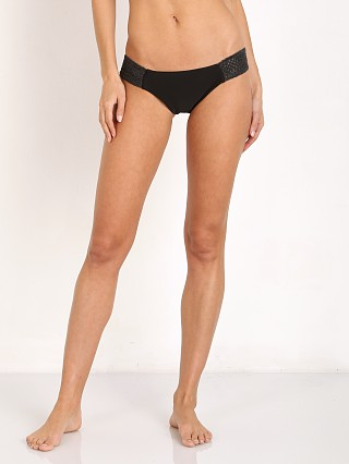 Bettinis Stretch Side Bikini Bottom Black