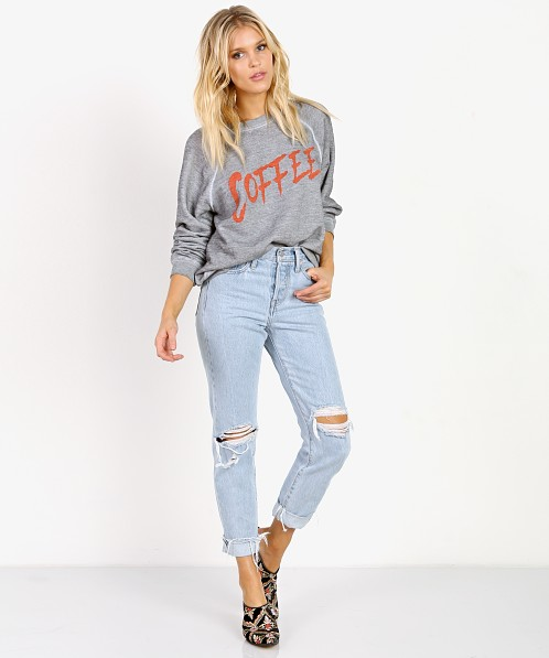 WILDFOX Coffee Sommer Sweater Heather