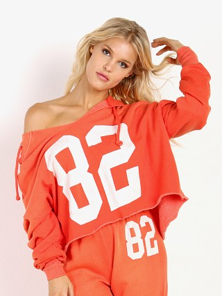 WILDFOX Eighty Two Freddy Hoodie Inferno Red