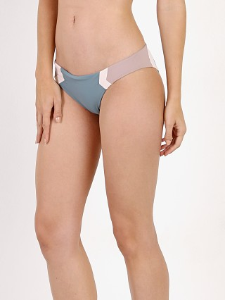 L Space Barracuda Bikini Bottom Slated Glass