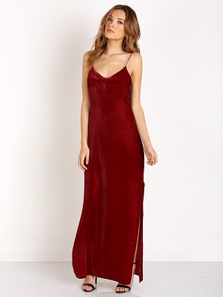 Tularosa Dayton Velvet Slip Dress