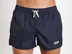 John Sievers Natural Pouch Swim Shorts Navy