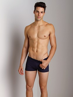 Sauvage Active Yoga Trunk Solid Navy
