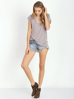 Stillwater Scoop Neck Tee Taupe