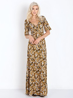 Somedays Lovin Star Valley Animal Maxi Dress