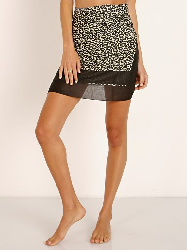 Solid & Striped Pareo Leopard