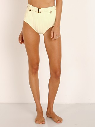Solid & Striped The Annie Bikini Bottom Blonde Rib