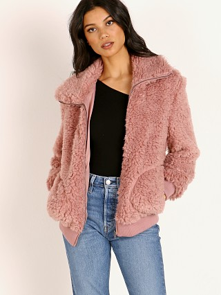 BB Dakota Teddy or Not Coat Rose Quartz