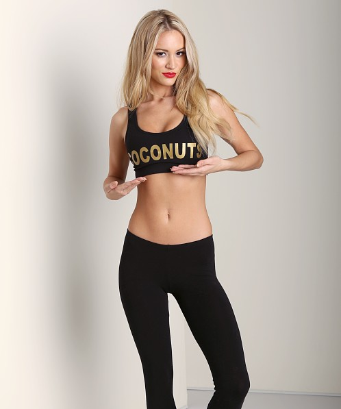 This is a Love Song Coconuts Bra Black