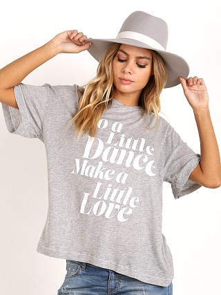 WILDFOX Get Down Tonight Sonic Tee Heather