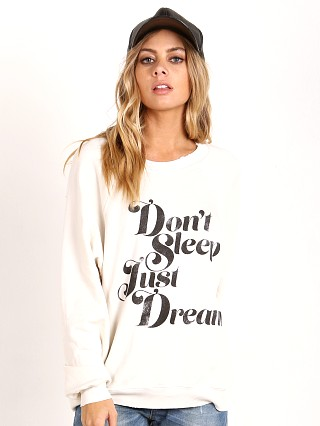 WILDFOX Just Dream Sommers Sweater Alabaster
