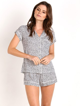 Eberjey Sleep Chic Short PJ Boxed Set Mink Puff