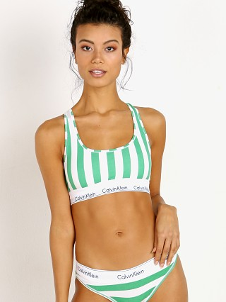 Complete the look: Calvin Klein Modern Cotton Bralette db Stripe