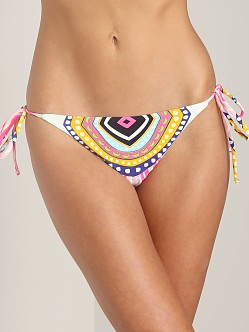 Mara Hoffman Tie Side Bottom Rays Pink