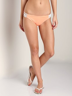L Space Low Down Bikini Bottom Electric Coral