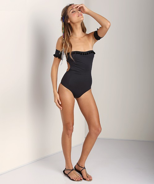 L Space Pool Party One Piece Black