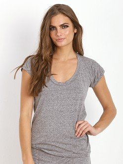 Maison Du Soir Camille Tee Heather Grey
