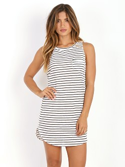 Amuse Society Elle Dress Black Stripe