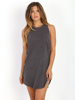 Amuse Society Elle Dress Charcoal