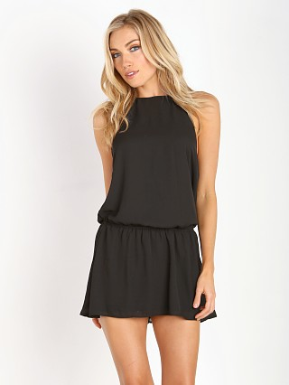 Show Me Your Mumu Hammock Halter Dress Black Crisp