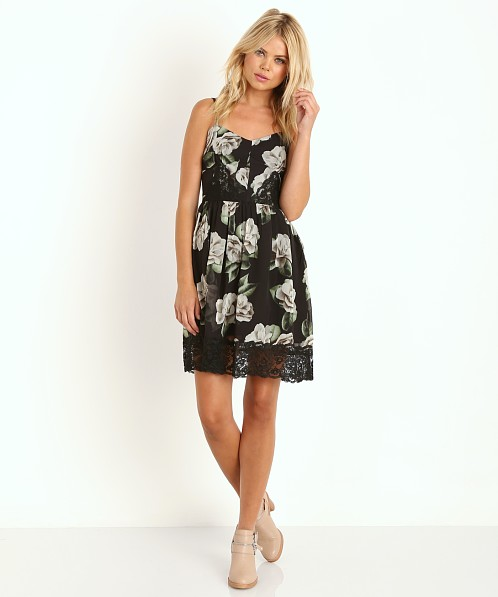 Line & Dot Teen Spirit Dress Nirvana Garden