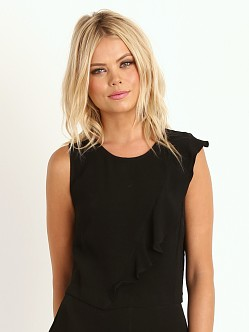 Line & Dot Winona Forever Top Black