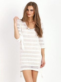 Spell Route 66 Mini Dress White