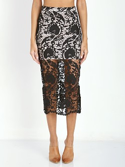 Stone Cold Fox Elliot Skirt Black