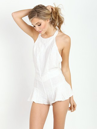 Stone Cold Fox Noah Romper White