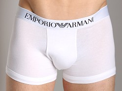 Emporio Armani Stretch Cotton Boxer Brief White