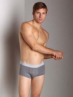 Emporio Armani Soft Stretch Pouch Trunk Grey