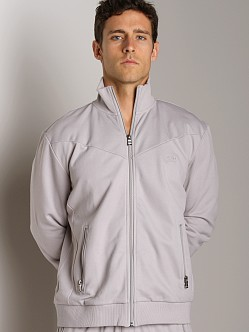 Hugo Boss Zipper Collar Jacket Grey