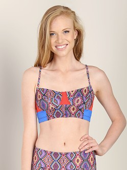 Onzie Bustier Bra Top Sedona/Royal Blue