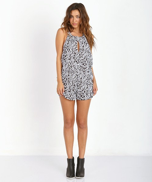 The Fifth Label Stella Playsuit Leopard