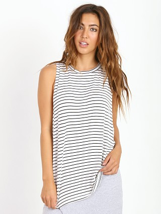 The Fifth Label Moonlight Tank White/Black Stripe