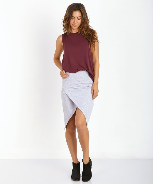 The Fifth Label Roadhouse Skirt Grey Marle