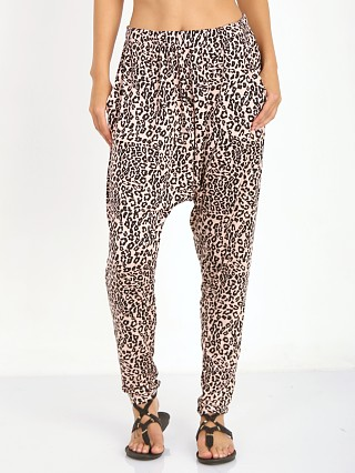 The Fifth Label Midnight Moon Pant Apricot & Navy Leopard
