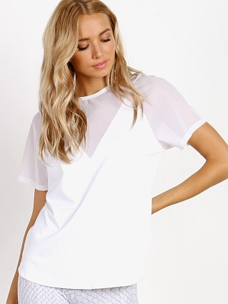 Varley Morra Top White