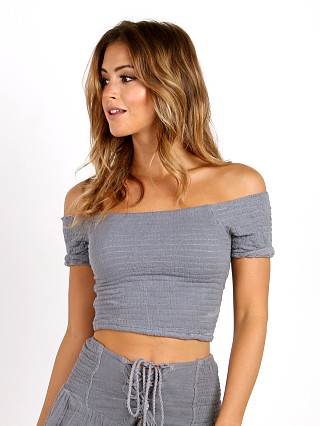 Jen's Pirate Booty Secret Crop Top Storm