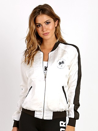 You may also like: Spiritual Gangster Sun Surf Soul Satin Bomber Jacket White/Black