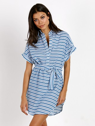 Faithfull the Brand Aaron Shirt Dress Puglia Stripes